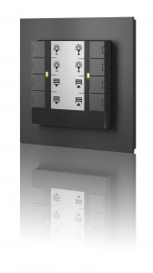 Push-button unit for room operating unit, ecoUnit358